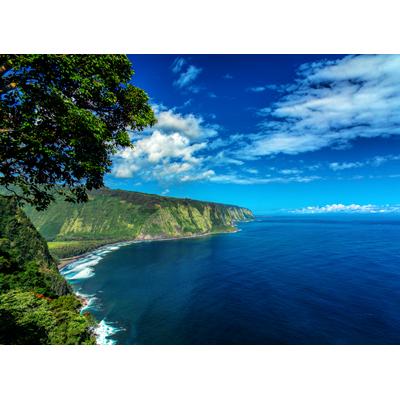 Alluring Waipi'o Valley Coastline